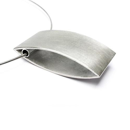 Duotex rectangular pendant