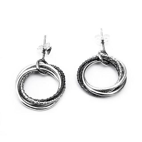 Russian hoop earrings