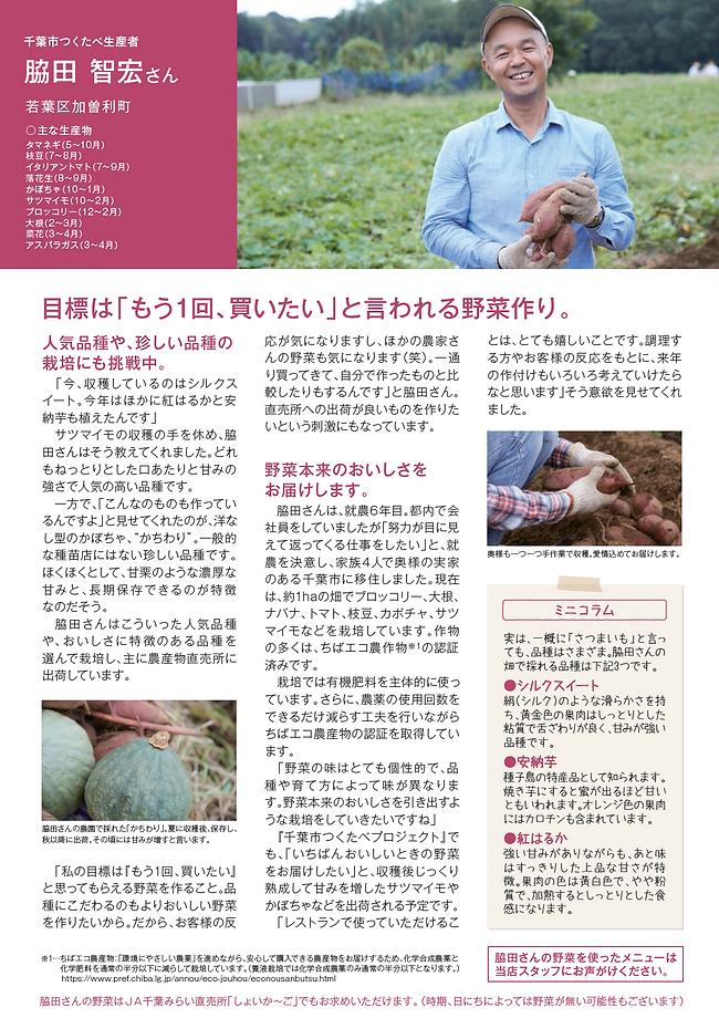 千葉市つくたべ,脇田智宏,紹介