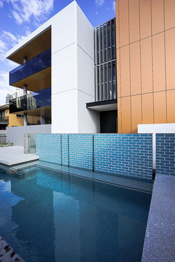 Pool + Front Entry
