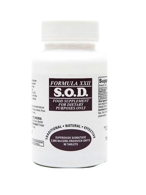 S.O.D Super Oxide Dismustase