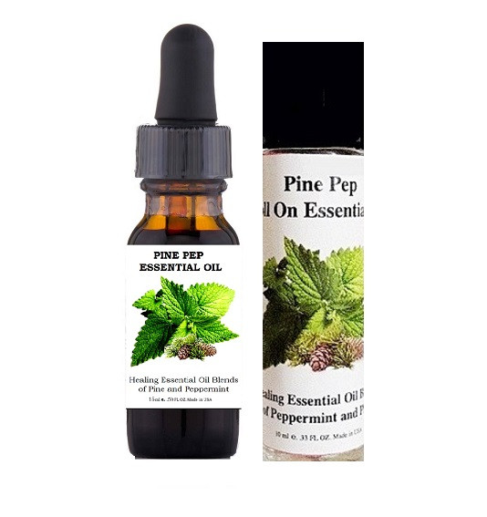 WHAT IS PINE AND PEPPERMINT ESSENTIAL OIL?