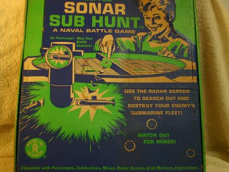 Sonar Sub Hunt Game!
