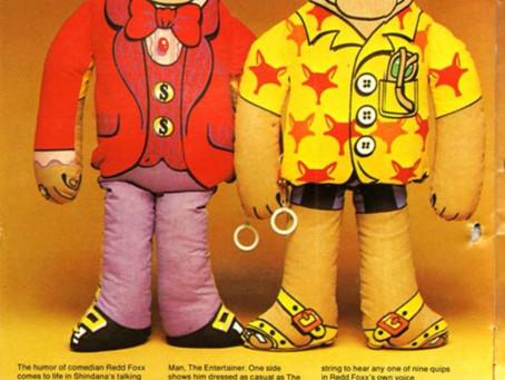 Redd Foxx Talking Doll