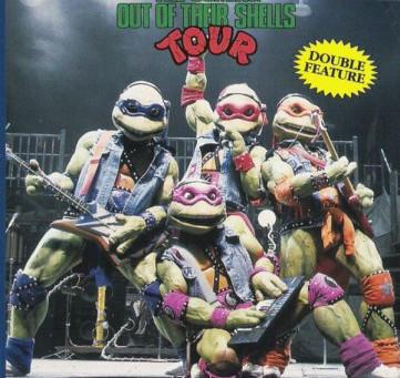 Teenage Mutant Ninja Turtles LIVE ON STAGE!!!