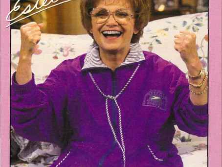 VHS Fun- Work out with Estelle Getty