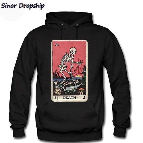 Death Tarot Major Arcana Sweatshirt  Hoodies Pullover
