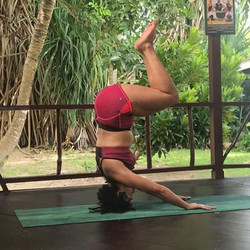 I really miss Jamaica.. miss my tribe and miss the daily routines of my kemetic yoga training