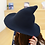 Thumbnail: New Modern Witch Hat Made From High Quality Sheep Wool