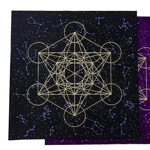 60x60cm Altar Tarot Tablecloth Flannel Variety Style Tarot Cloth