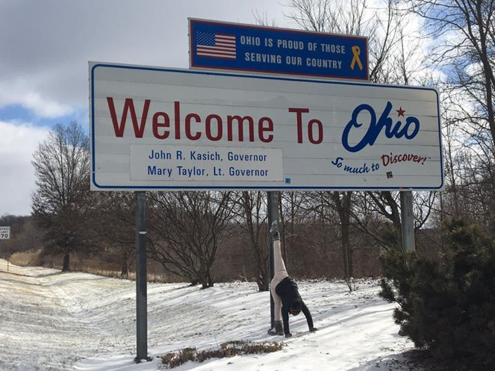 #YogaIn50States #HighInOhio #YogaOnStateSignsIsLimiting #SendNewPoseRequests!!