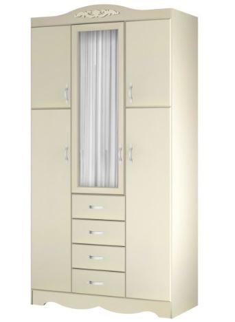 шкаф со стеклянной дверкой модель 409