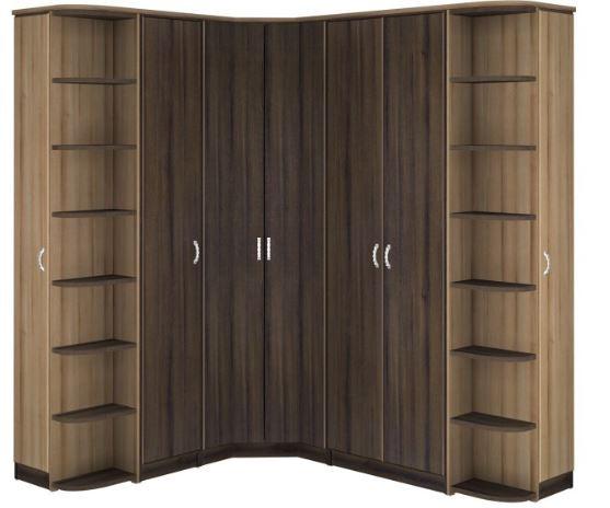 Пример углового шкафа