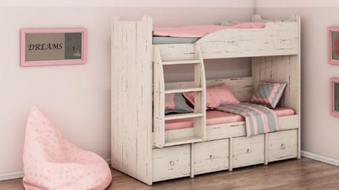 Детская кроватка двухэтажная Халомит 9