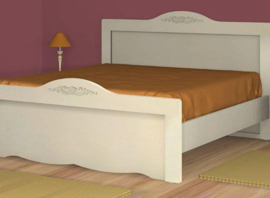 Двух спальная кровать модель 243
