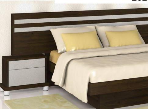 Двуспальные кровати модель 252