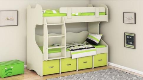 Двухъярусная кровать модель 258