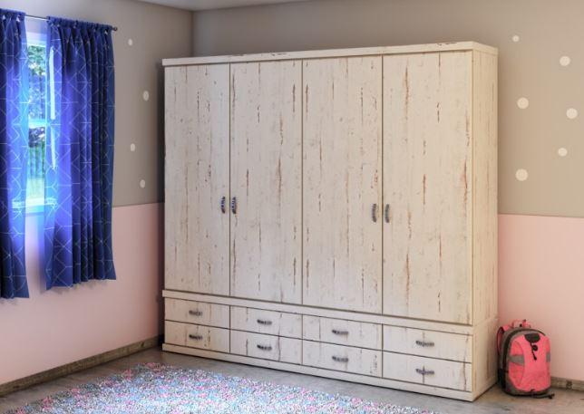 Шкаф с ящиками модель 456