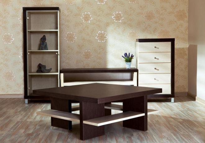 Корпусная мебель в зал модель Торино