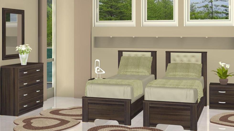 Кровать раздельная модель Афэк