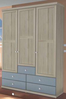 Шкаф со стеклянными дверцами модель 611