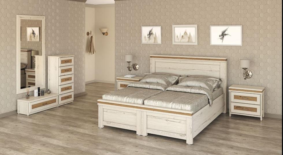 Раздельная кровать модель Тоскана