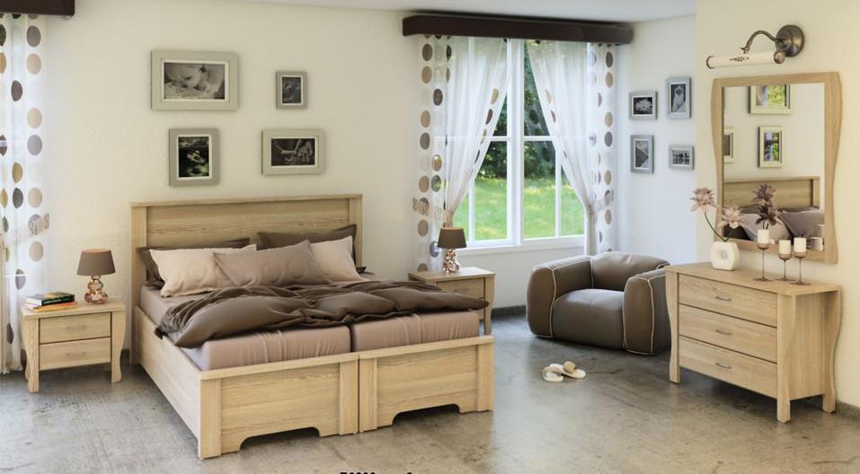 Кровати раздельные модель Ахиноам