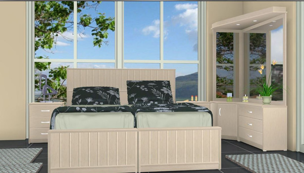 Кровати раздельные модель Лотам