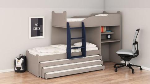 Двухуровневые детские кровати Халомит 10