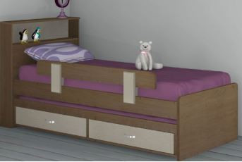 Детские кровати модель 277
