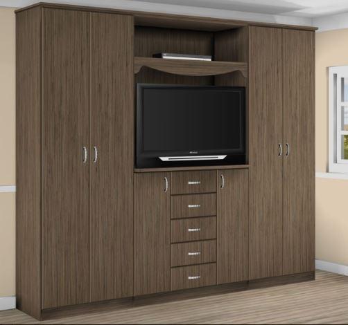 Шкаф с нишей для телевизора модель 407