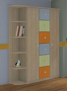 Платяной детский шкаф модель 334