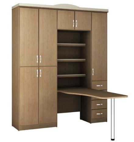 Шкаф со столом модель 419
