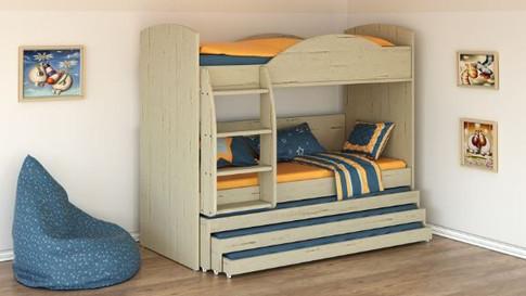 Двухъярусная кровать Халомит 9