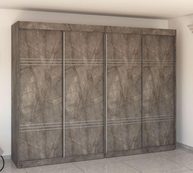 четырехдверный шкаф купе