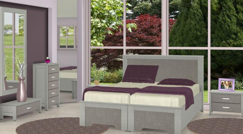 Кровати раздельные модель Мэши