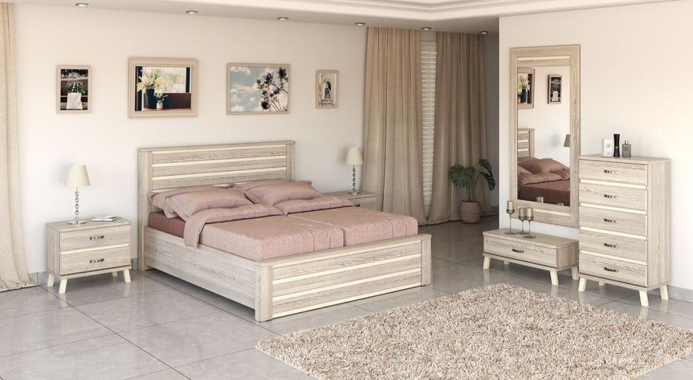 Раздельные кровати модель нешер