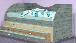 Детская кровать модель 282