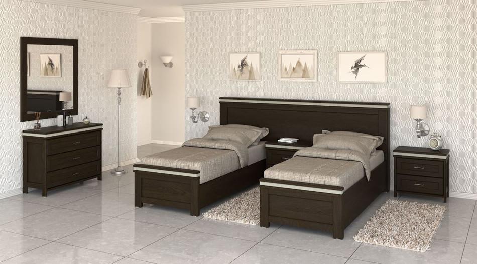 Кровать раздельная модель Арад