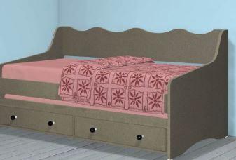 Детские кровати модель 260