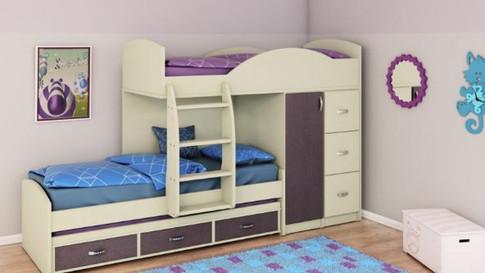 двухъярусная кровать для детей модель 254