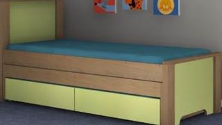 Двойная кровать выдвижная модель 338