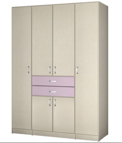 Детский шкаф для одежды модель 412