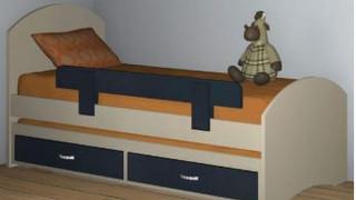 Детские кровати модель 287