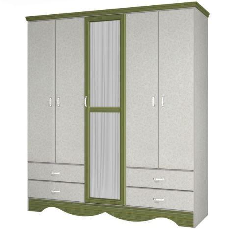 Шкаф со стеклянными дверцами модель 660
