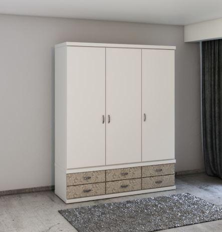 Шкаф с распашными дверками модель 456