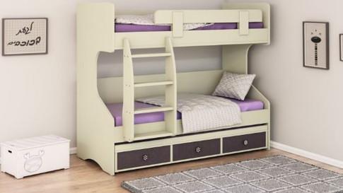 двухэтажная кровать детская модель 295