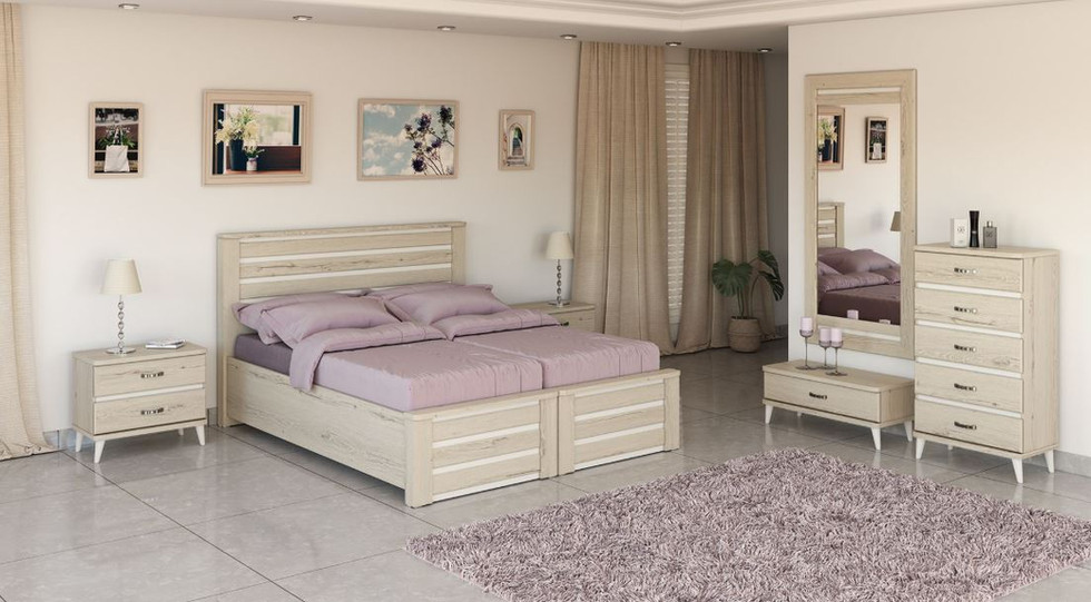 Кровати раздельные модель нешер