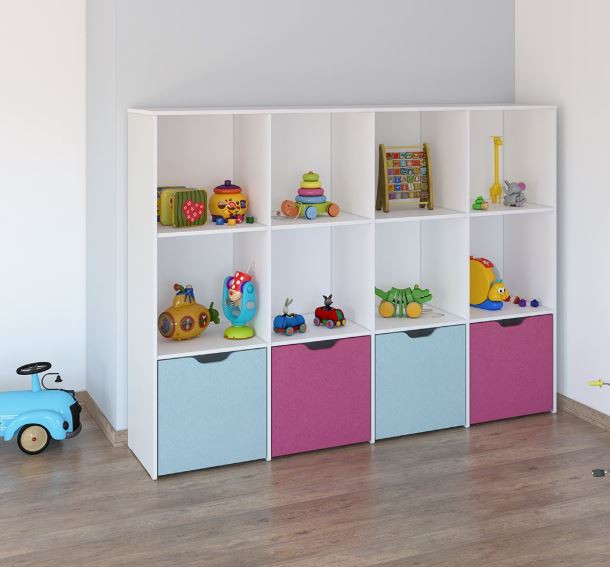 Детский шкаф для игрушек 492