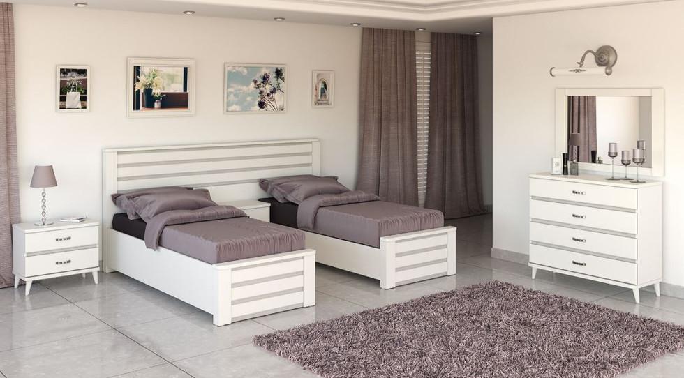 Кровать раздельная модель 510